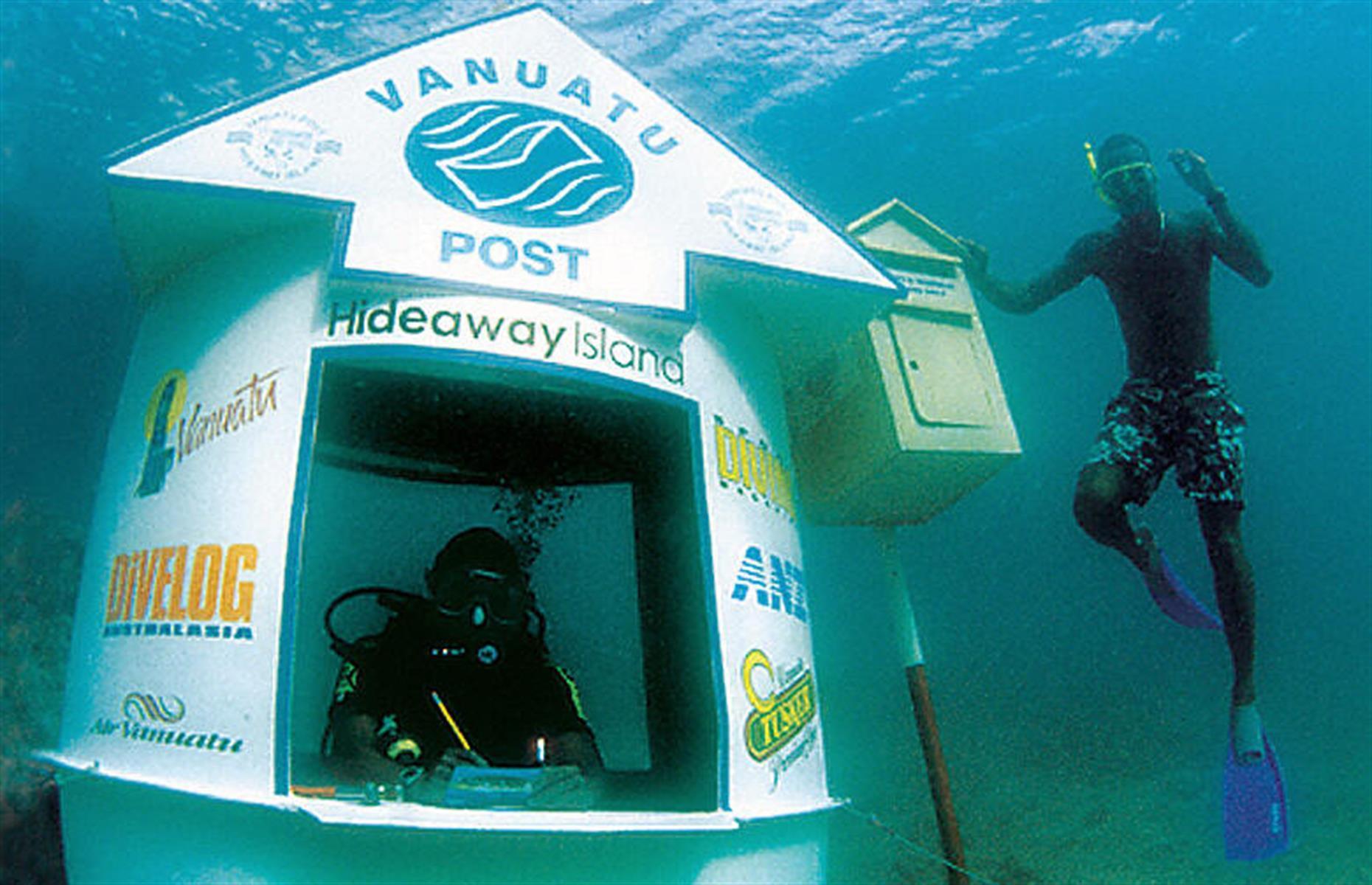 Vanuatu Post Worlds First Underwater Post Office
