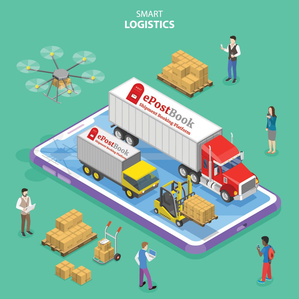 epostbook logistics solution - ePostBook helps in solving your logistic requirements and problems - Shipping solution for all.